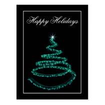 Corporate Christmas Greeting PostCards