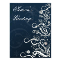 Corporate Christmas Greeting PostCards