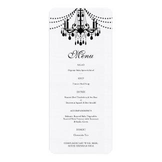 Corporate Dinner Menu 4x9.25 Paper Invitation Card