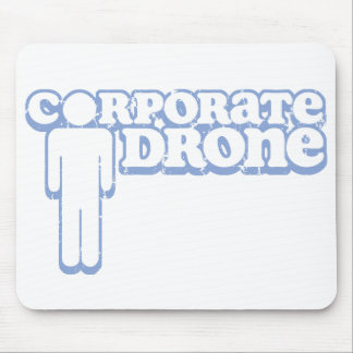 Corporate Drone Guy Mousepad