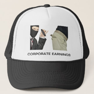 Corporate Earnings Trucker Hat
