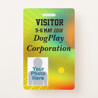 Corporate Event Badge