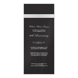 Corporate Event Ribbon Invitation (black & white)