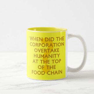Corporate Food Chain Mug