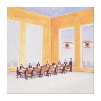 Corporate Governance 2003 Canvas Print