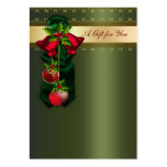 Corporate Holiday Gift Certificates Large Business Card
