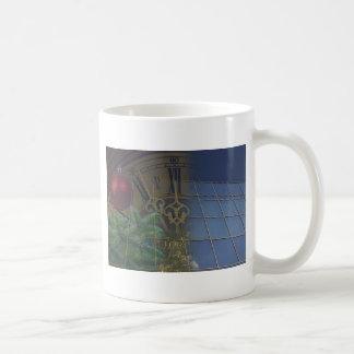 corporate holiday greetings coffee mug