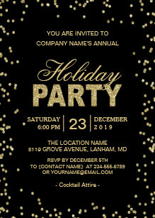corporate holiday invitations zazzle