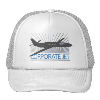 Corporate Jet Aircraft Trucker Hat