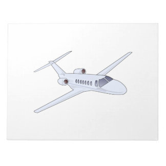 Corporate Jet Note Pads