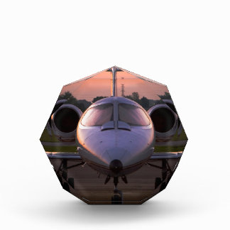 Corporate Jet Plane Travel Acrylic Award