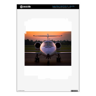 Corporate Jet Plane Travel Decal For iPad 3