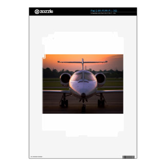 Corporate Jet Plane Travel iPad 2 Decal