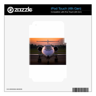 Corporate Jet Plane Travel iPod Touch 4G Decals