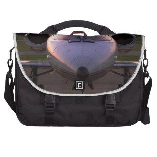 Corporate Jet Plane Travel Laptop Commuter Bag