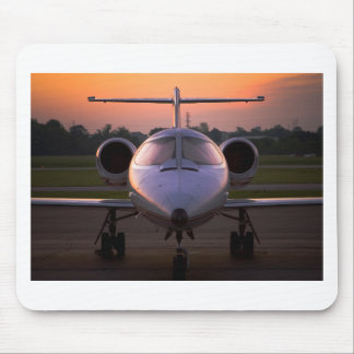 Corporate Jet Plane Travel Mouse Pad