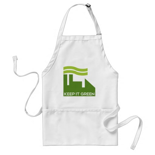 Corporate Keep Green Aprons