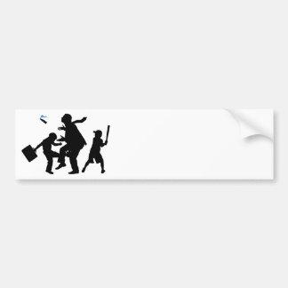 Corporate Kickback Car Bumper Sticker