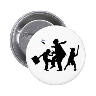 Corporate Kickback Pinback Button