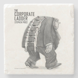 Corporate Ladder Stone Coaster