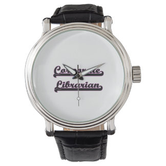 Corporate Librarian Classic Job Design Wristwatches