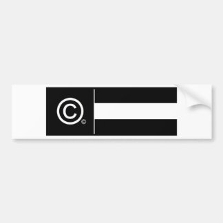 Corporate Logo Flag Bumper Sticker