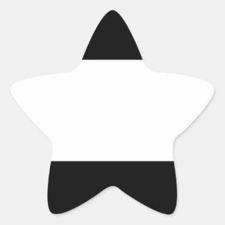 Corporate Logo Flag Star Sticker