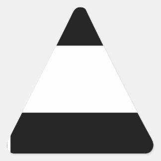 Corporate Logo Flag Triangle Sticker