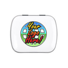 Corporate Logo Gift Mint Tins, No Minimum Quantity Jelly Belly Tin at Zazzle