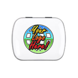 Corporate Logo Gift Mint Tins, No Minimum Quantity Jelly Belly Tin