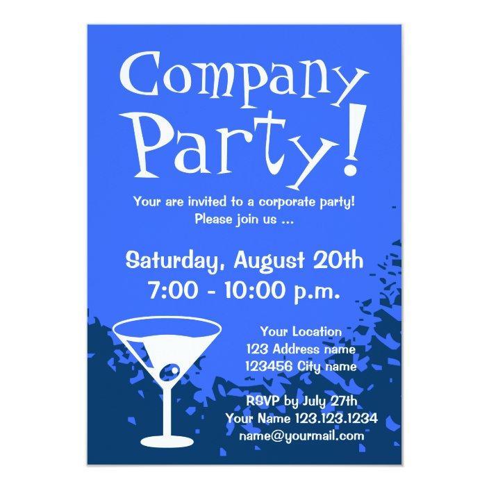Corporate Party Invitations Company