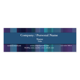 Corporate & personal - trendy company branding business card template