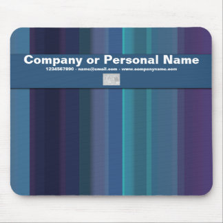 Corporate & personal - trendy company branding mouse pad
