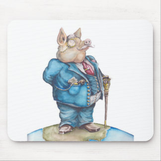 Corporate Pig Mouse Pad