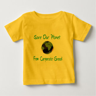 Corporate Planet Baby T-Shirt
