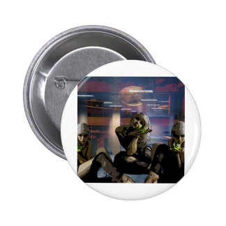 CORPORATE POISEN PINBACK BUTTONS