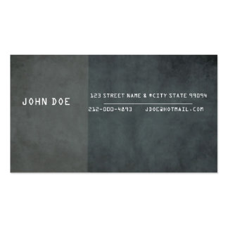 Corporate / Private Business / Self Employed Double-Sided Standard Business Cards (Pack Of 100)