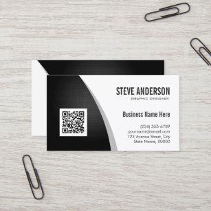Qr Code Business Cards Zazzle