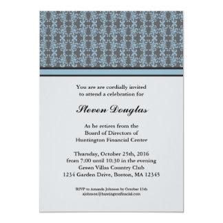 """Corporate Retirement Invitation 5"""" X 7"""" Invitation Card"""