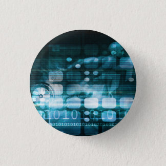 Corporate Sales and Marketing in a Company Button