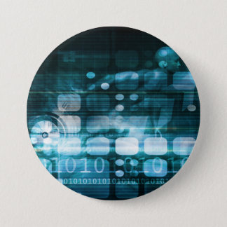 Corporate Sales and Marketing in a Company Pinback Button