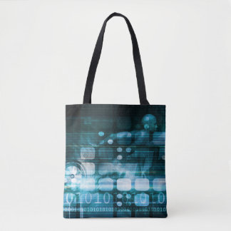 Corporate Sales and Marketing in a Company Tote Bag