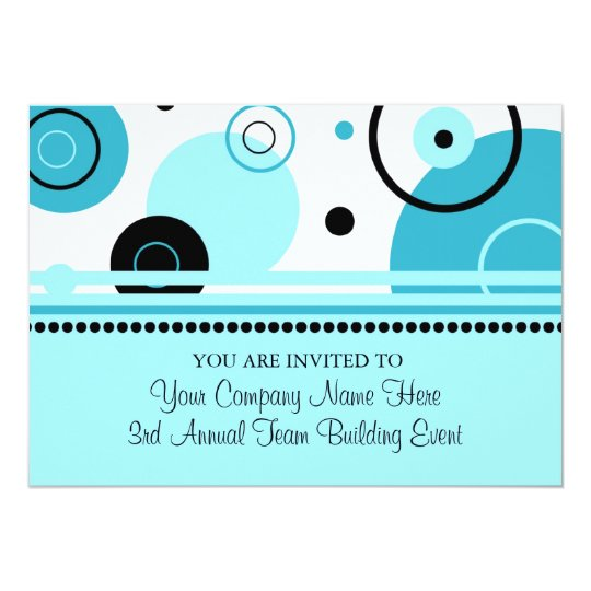 Corporate Team Building Event Invitations | Zazzle.com