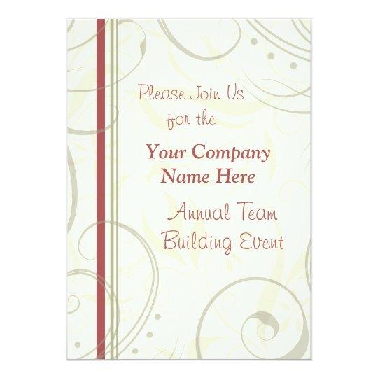 Corporate Team Building Event Weekend Invitations | Zazzle.com