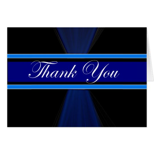 Corporate Thank you-card Card