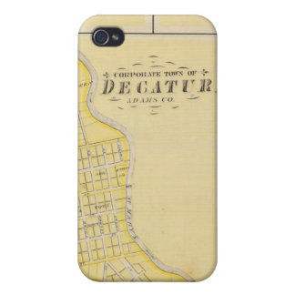 Corporate Town of Decatur Case For iPhone 4