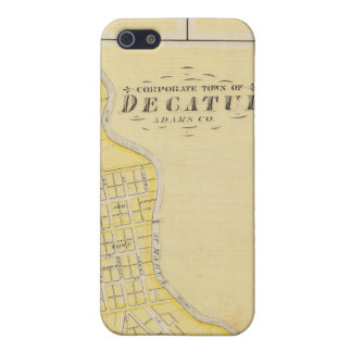 Corporate Town of Decatur Case For iPhone SE/5/5s