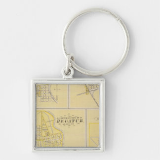 Corporate Town of Decatur Keychain