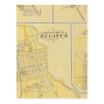 Corporate Town of Decatur Postcard