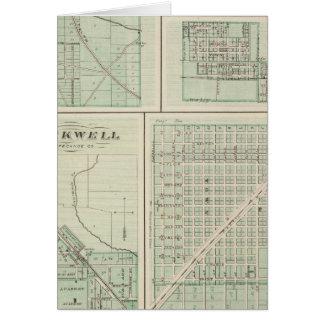 Corporate Town of Fowler, Benton Co Card